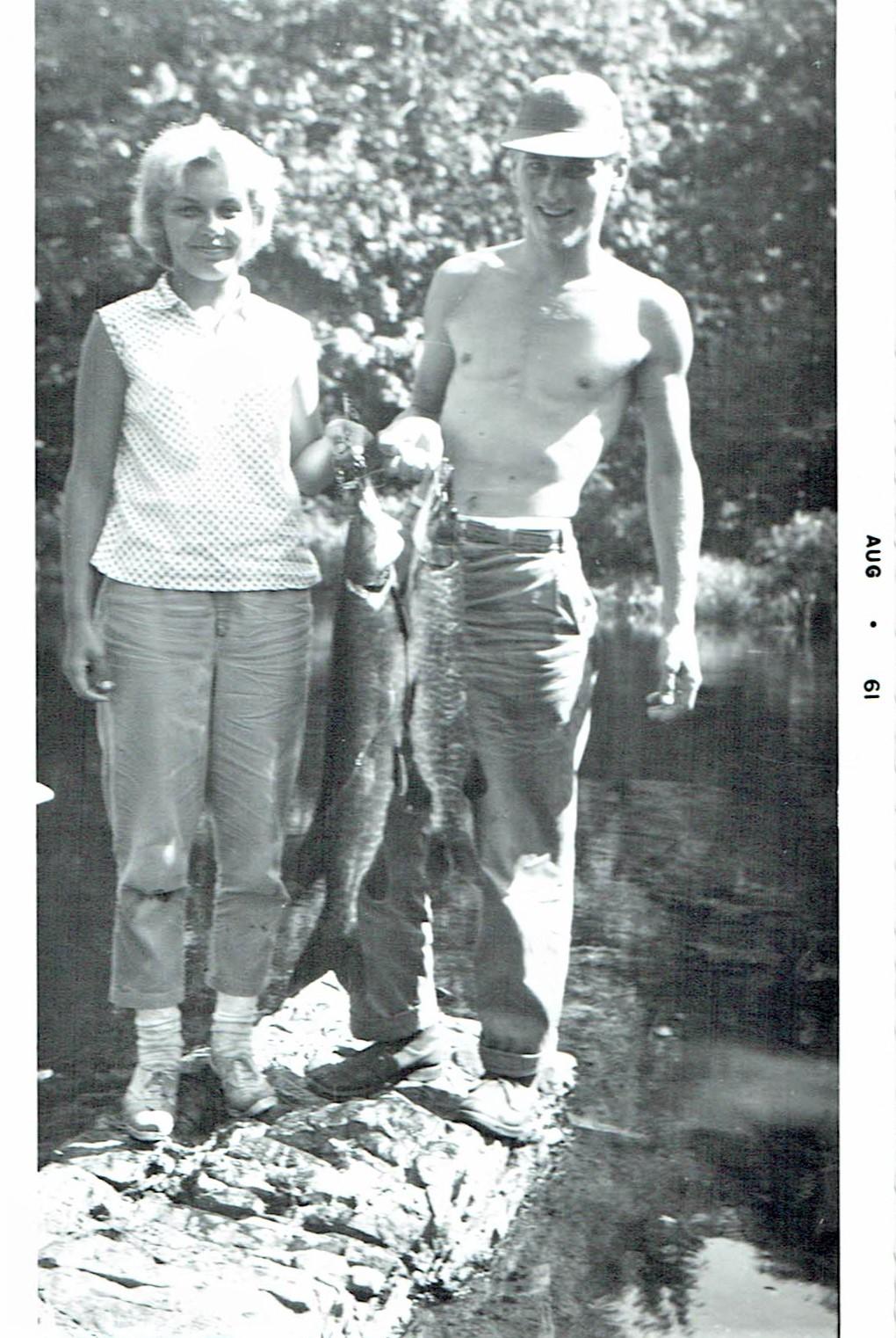 Mary Gulas and Bill Conkright, Beaver Creek, l961