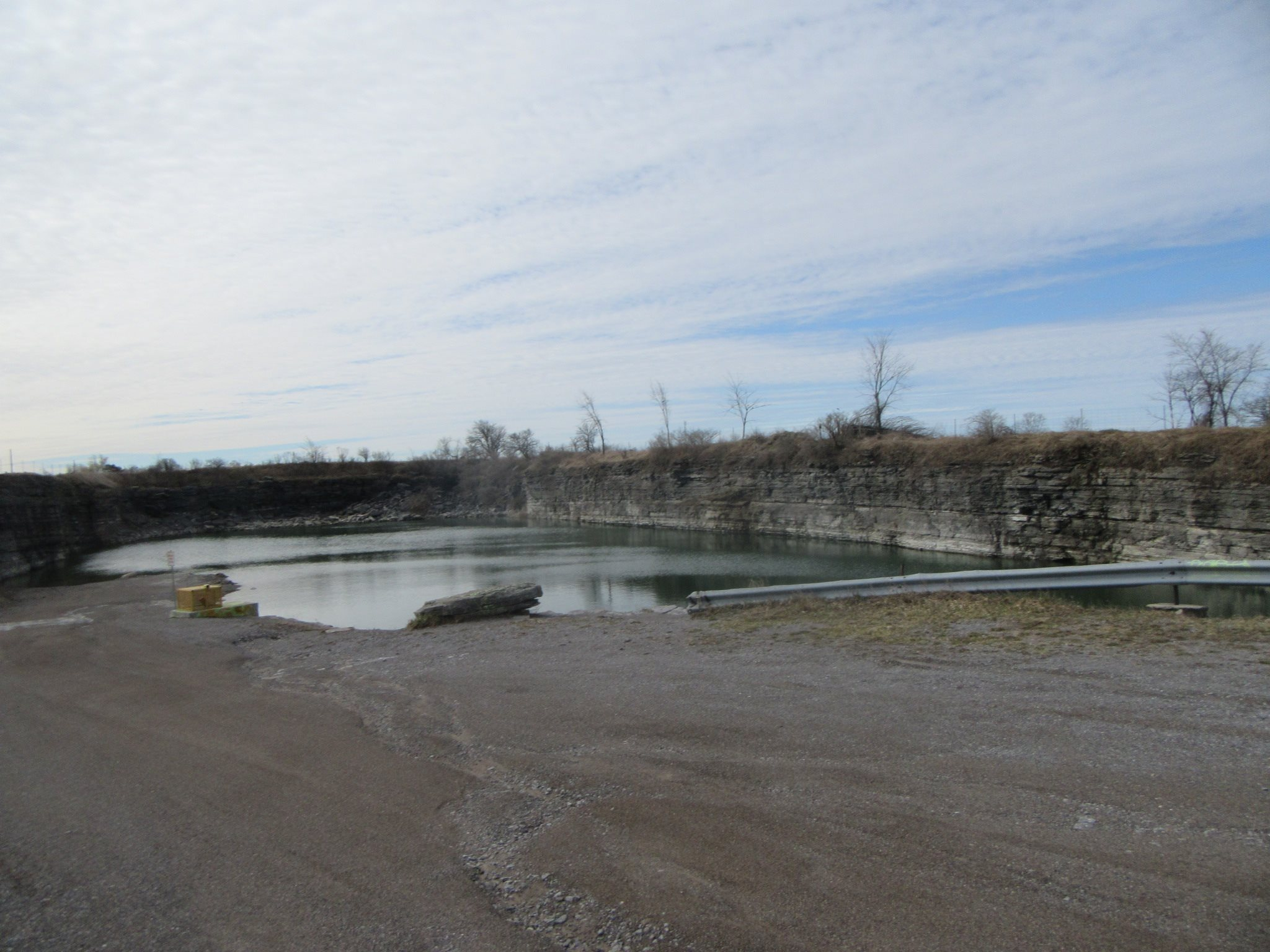 The quarry and swimming hole