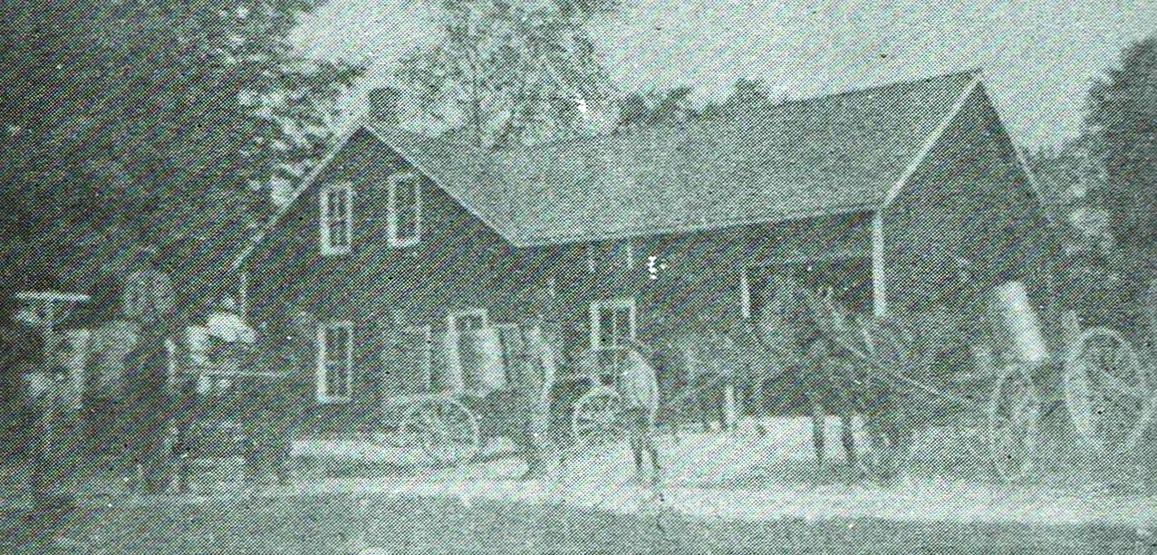 Springbrook Cheese Factory operated until 1952