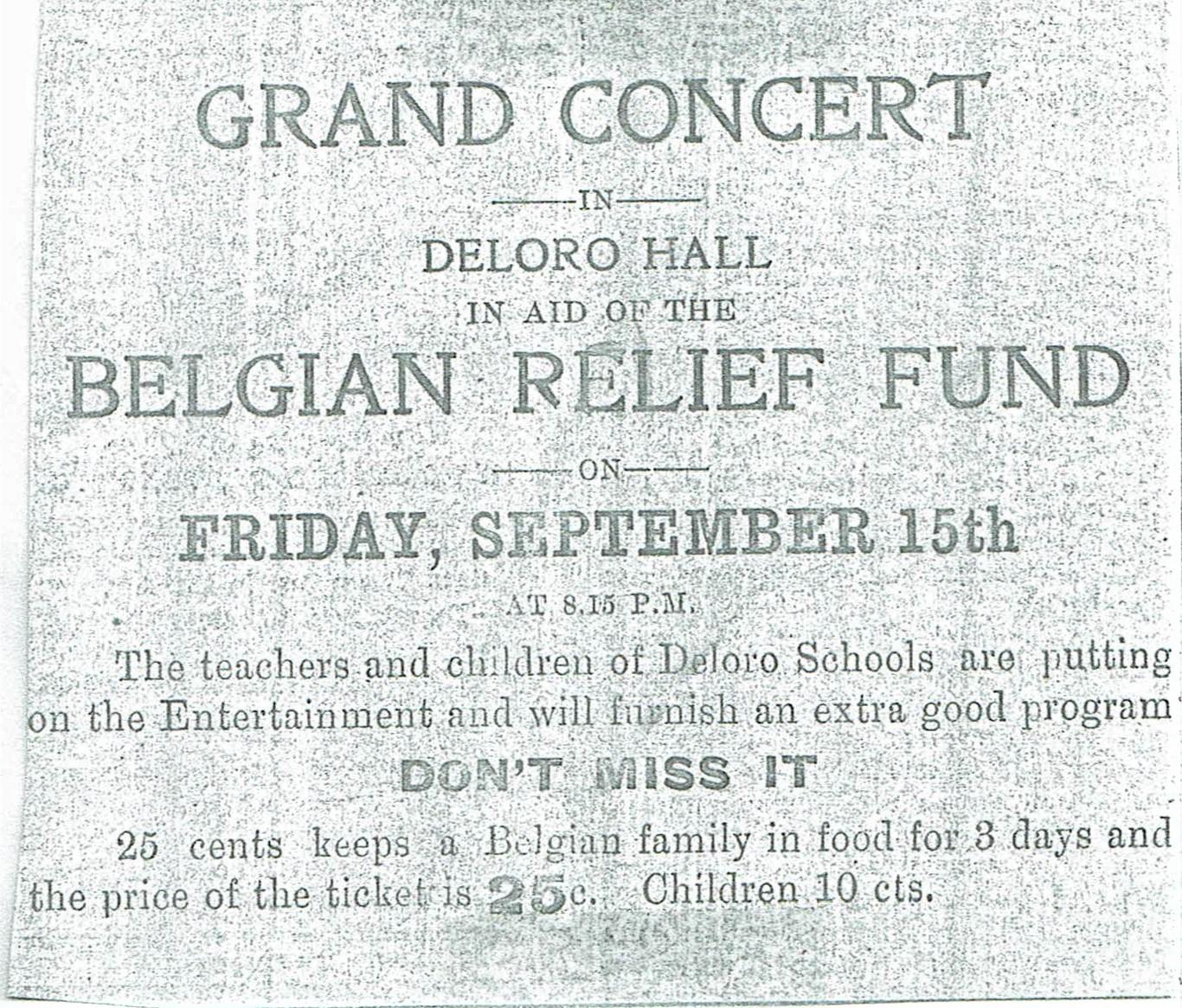 Sept 14, 1916 Deloro Pat. Soc. Belgian Relief Ad.jpg