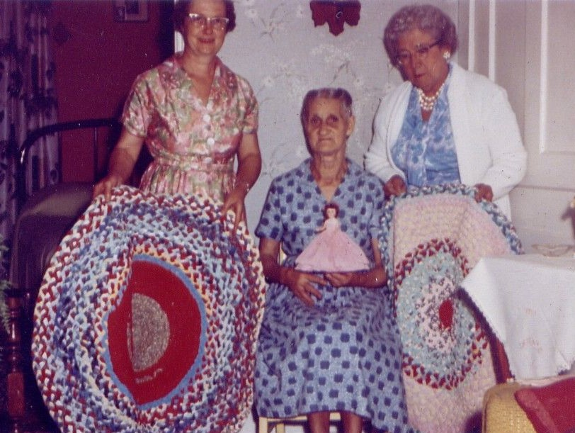 Hazel Fisher, Jennie Nobes, Helen McClure