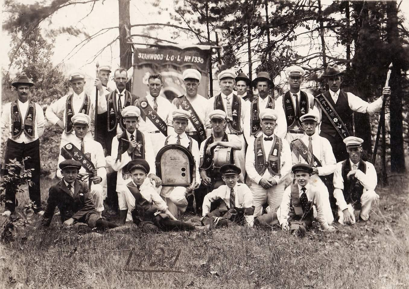 Stanwood Loyal Orange Band 1921 ………….PHOTO received from Jeff Kent