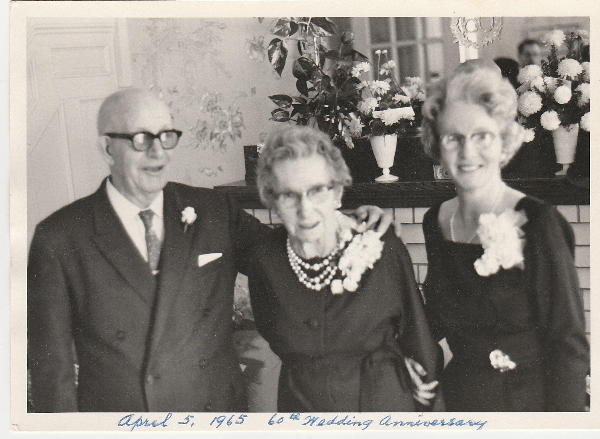 Mr. & Mrs. Bell had one child, Lorraine Hendershot. Lorraine & her husband Bill had one daughter, Carol and one son , John.