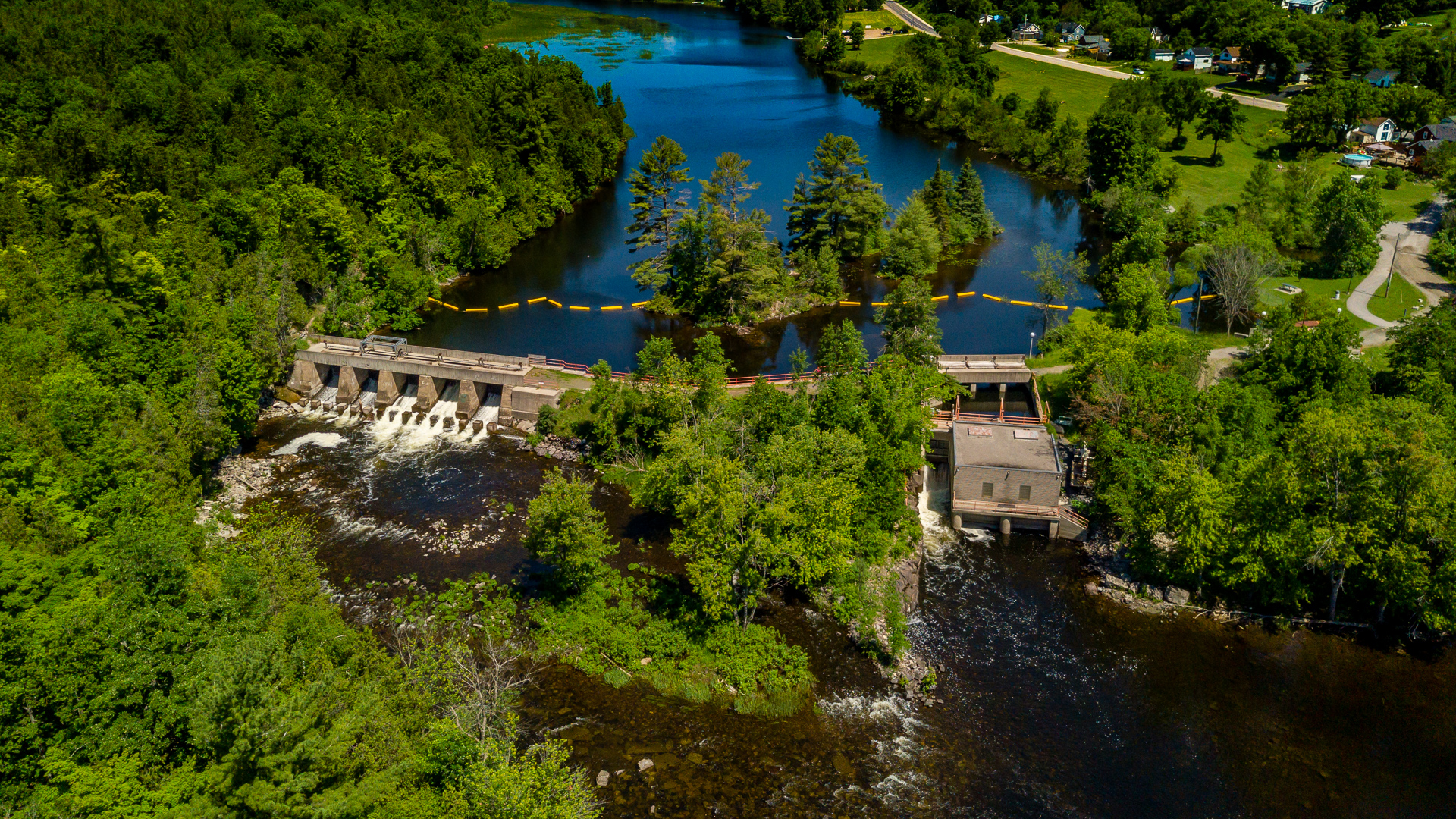 marmora dam and Generating Station 2019  by Sean Scally