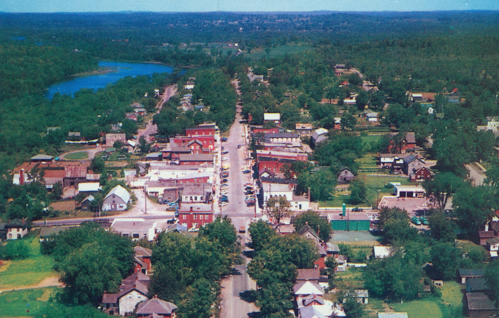 Marmora Village looking north