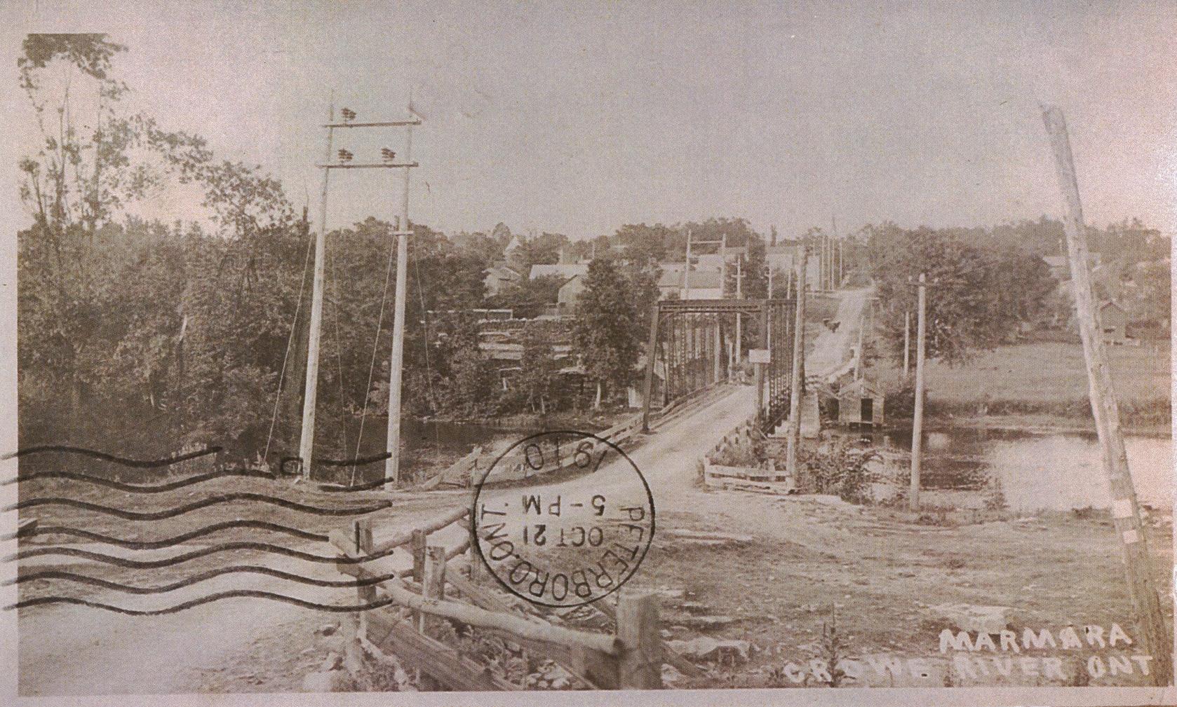 #7 Bridge,  Crowe River  1910.jpg