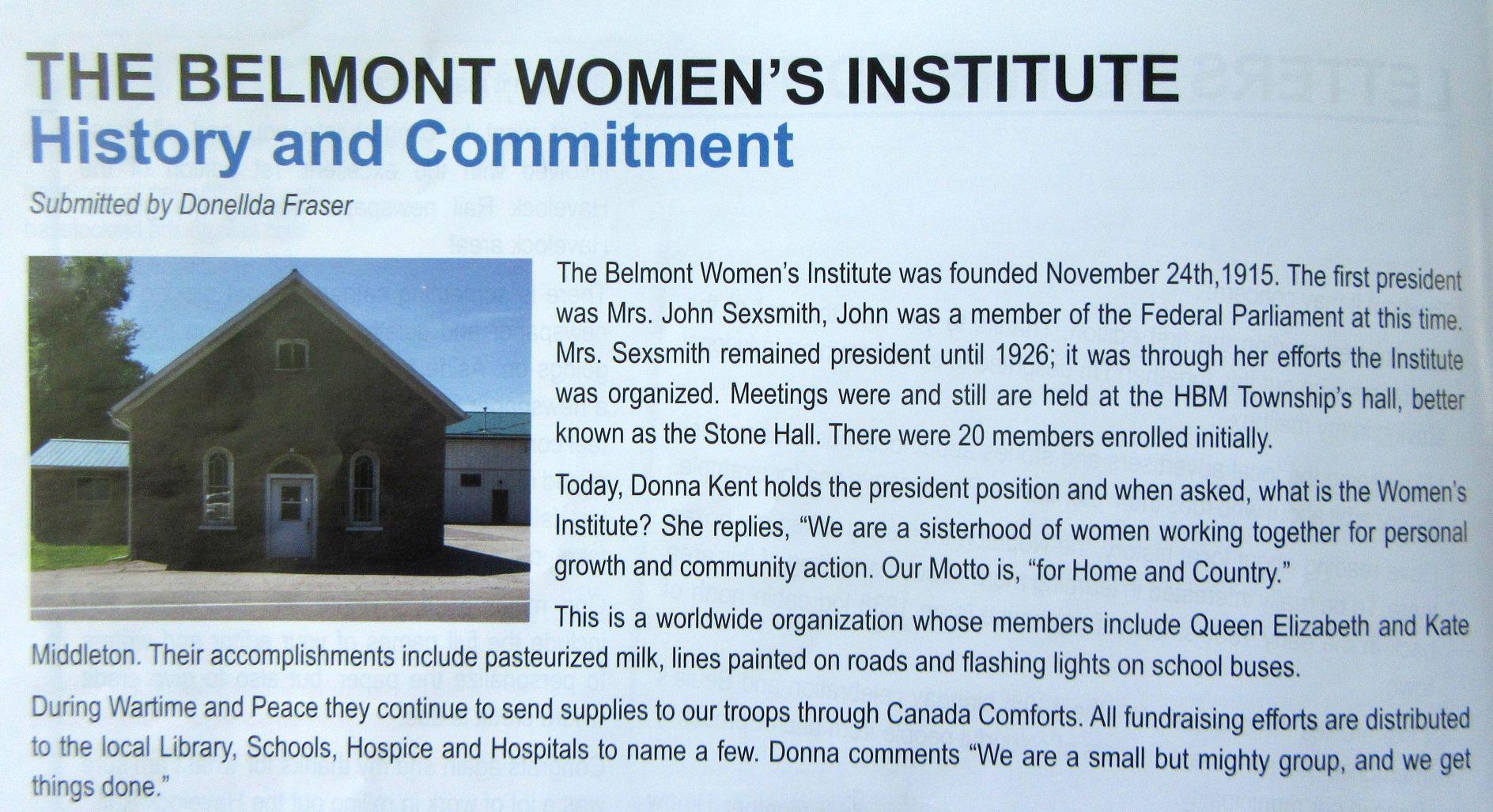 The Belmont Women's Institute.jpg