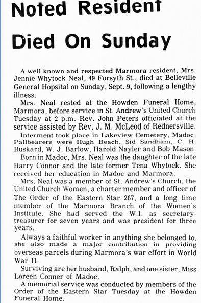 Neal, Jennie Whytock-Connor 1973   Obit.jpg