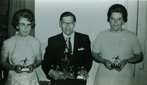 Doris & John Van Volkenburg & Doreen Derry
