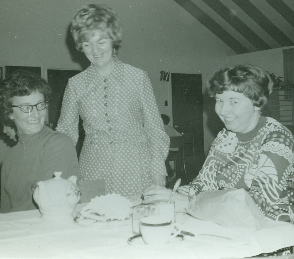 Barb Sanderson, Keitha Paranuik, Marilyn Mantle