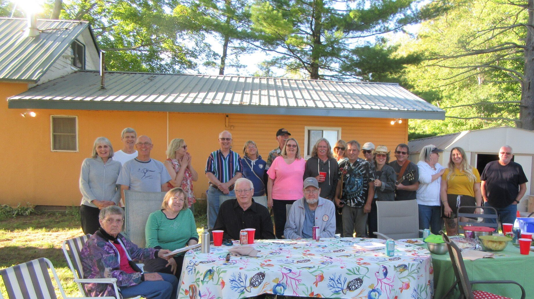 Owners Elena Kristiansen and Mike McGough, celebrate 150th anniversary of school with neighbours and friends - Aug.31, 2019