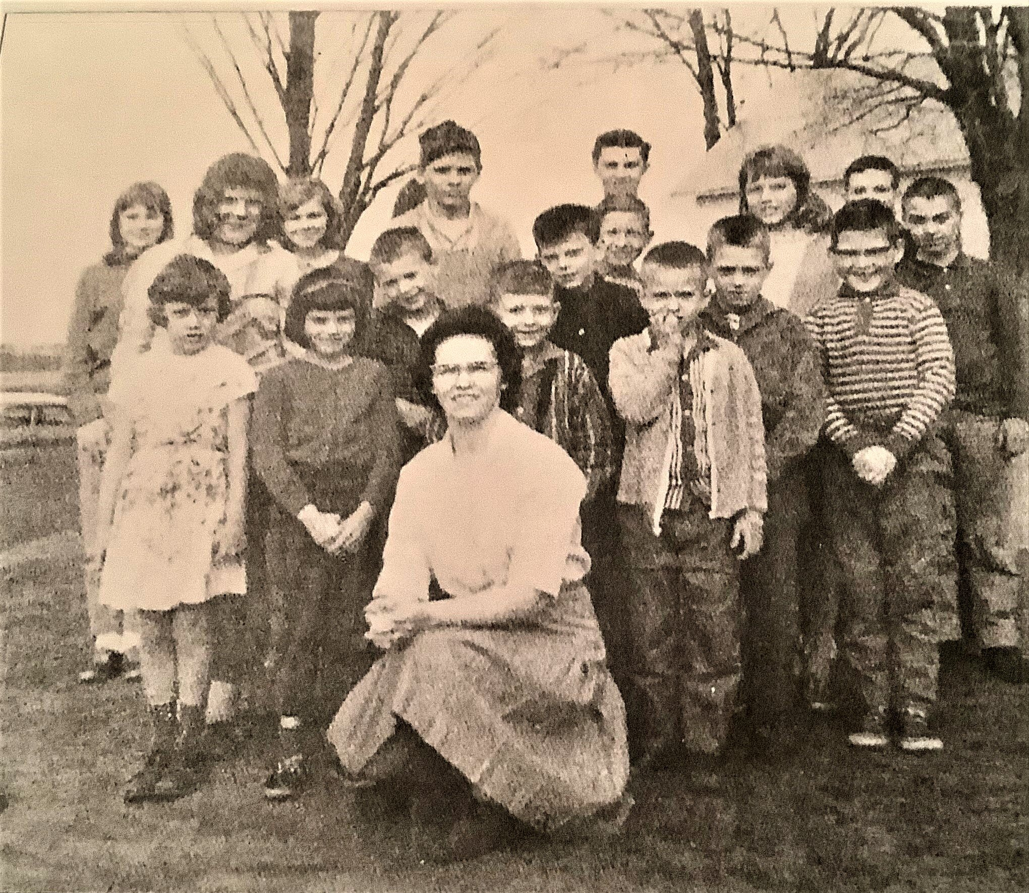 Rockdale students, c.1960 - Copy.jpg