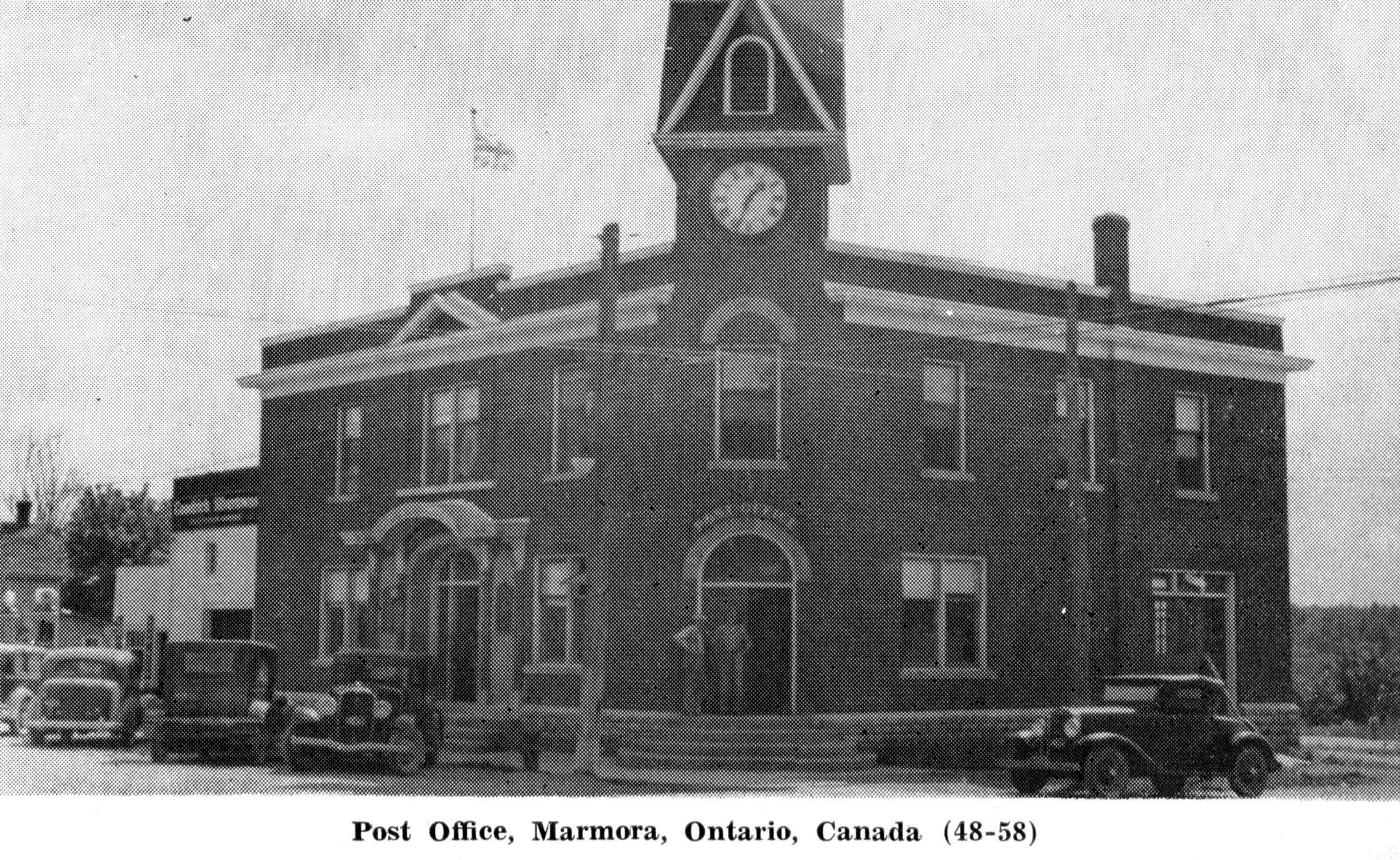Marmora Post Office, (1948-58).jpg