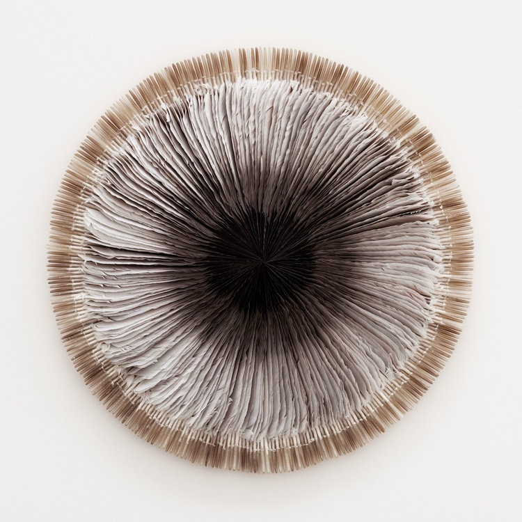 Feather Sculpture by Kate McGwire