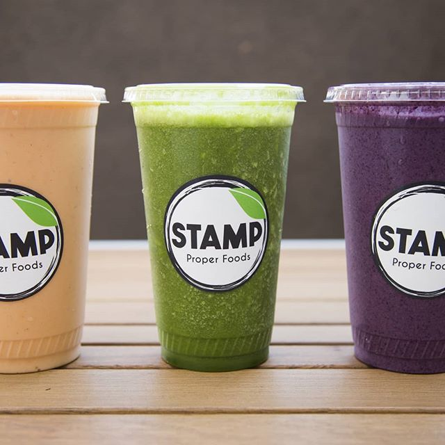 Carottes cake, Stamp Proper Green, LA PB&G.....all the best smoothies for  just you. #stampproperfoods #freshproducts #healthyfoods
