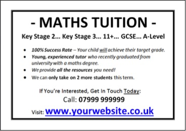how to market your tutoring business even if you have a small budget