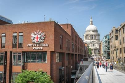 Photo of City of London School.