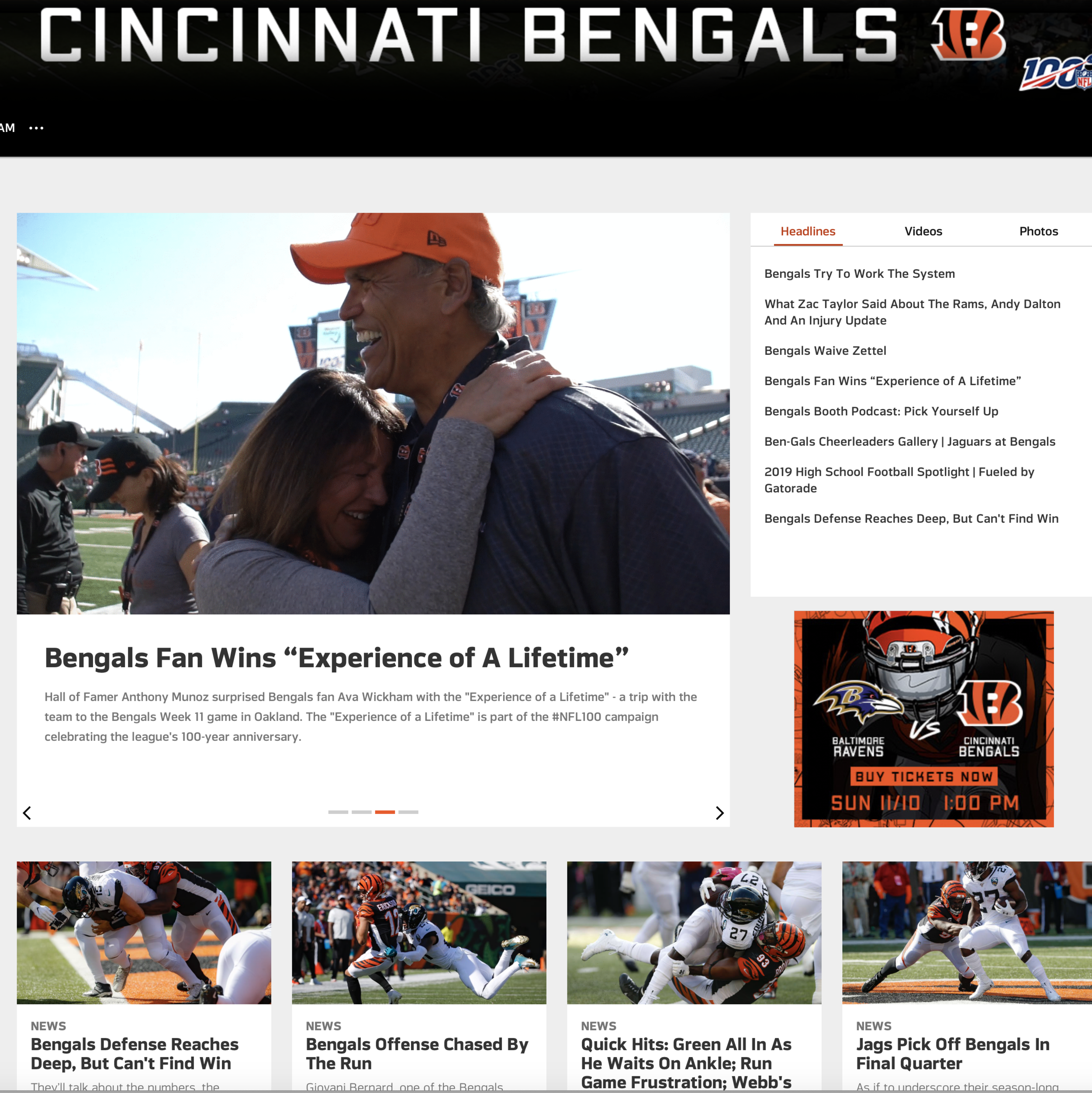 The trend of sports organizations hiring professional sports journalists started in earnest in about 2000 when the Cincinnati Bengals hired a newspaper beat writer who had been covering the team to write for the team's website, according to researcher Michael Mirer.