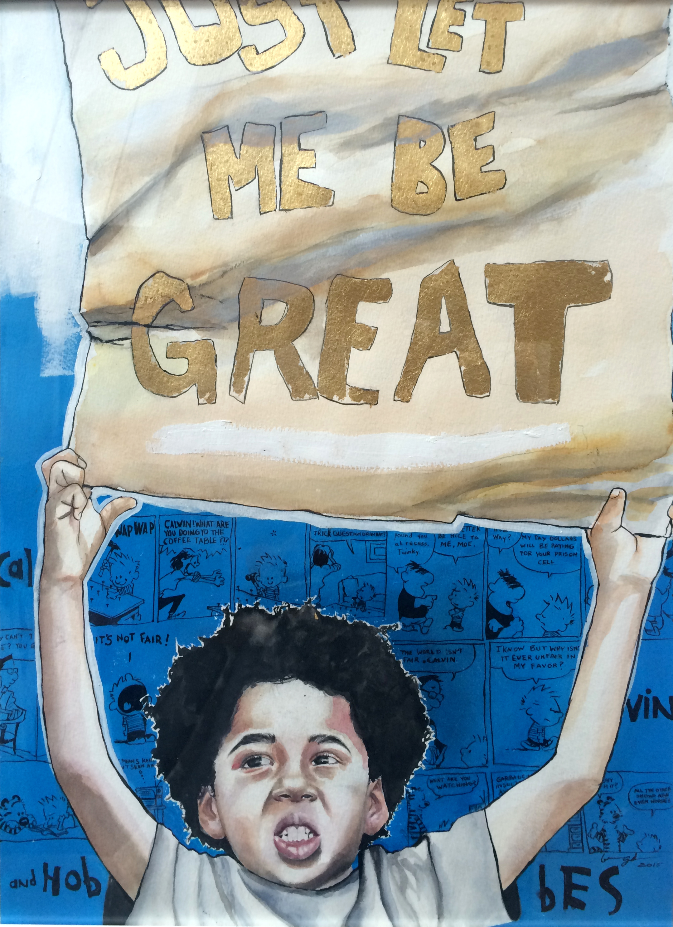 (SOLD)Sunday Morning Papers: Just let me be great