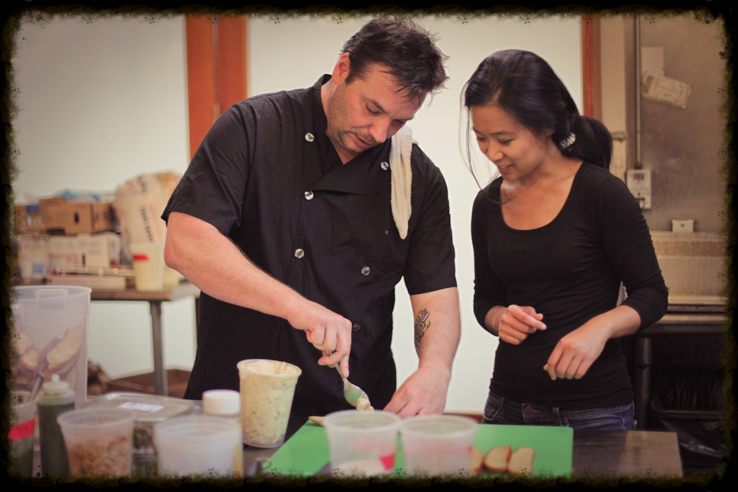 Chef Jamie Harrington, Executive Chef at Harrington Catering | Guest Chef at The San Francisco Blind Cafe