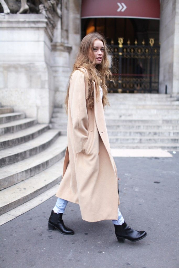 A  coat  that goes to my ankles.