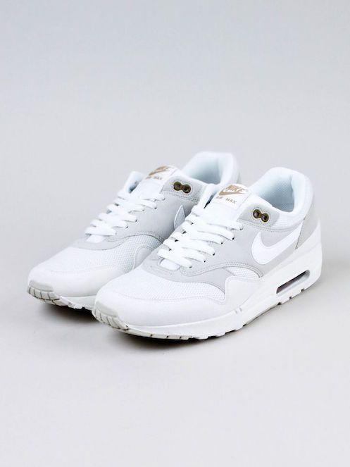 Nike, Air Max 1, White Beige,Unisex