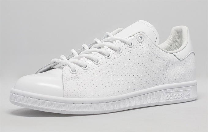 Adidas, Originals Stan Smith Perforated, White-White, Unisex