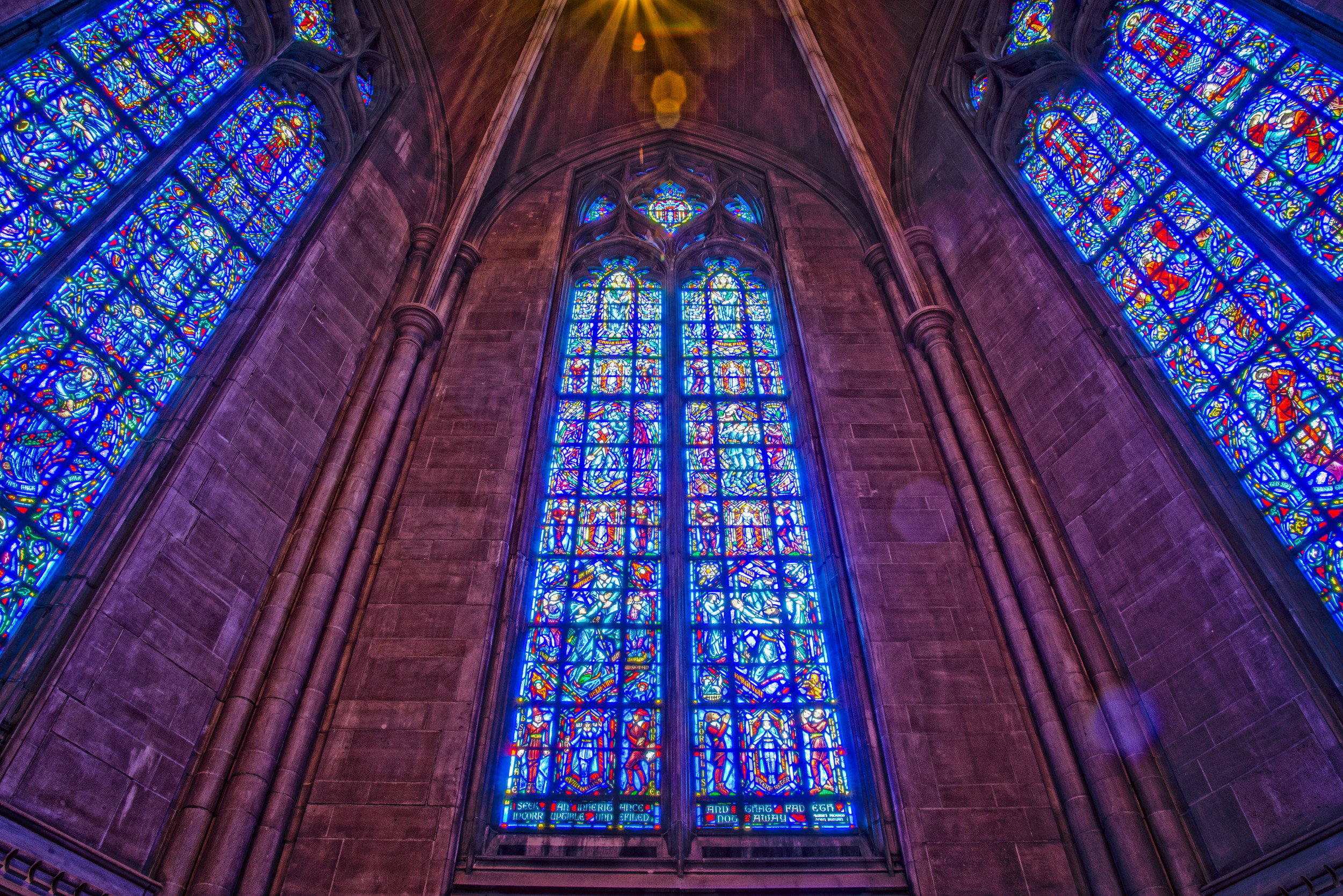 Windows of the Chapel