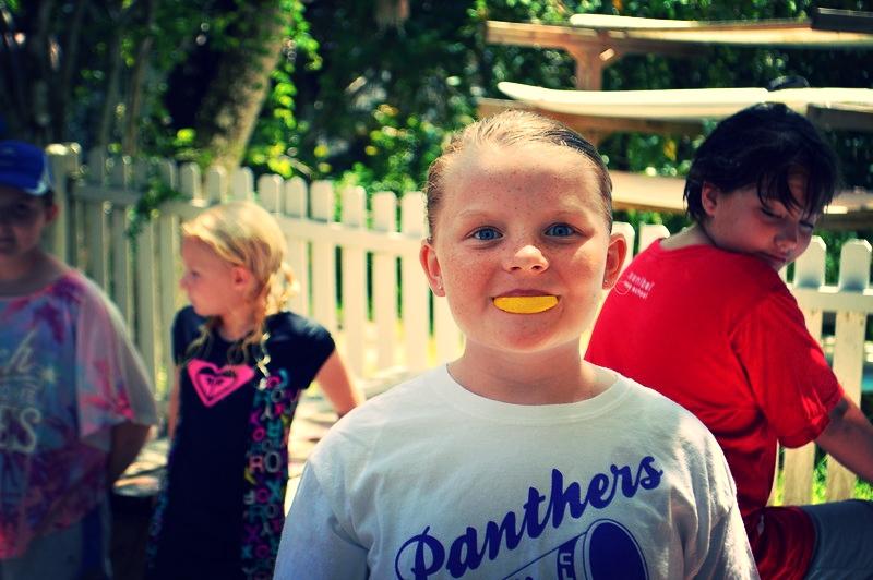 Kira Zautcke experiences sensory inactivation using miracle fruit and lemons.