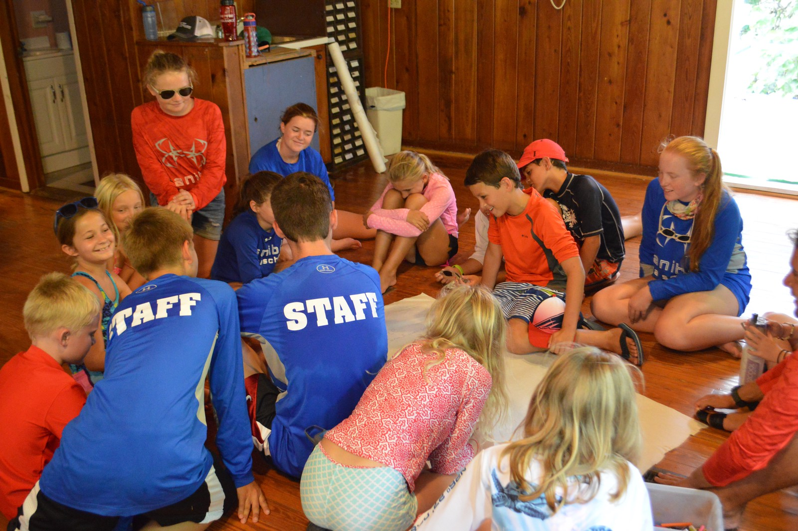 Calusa Week campers write their own legends.