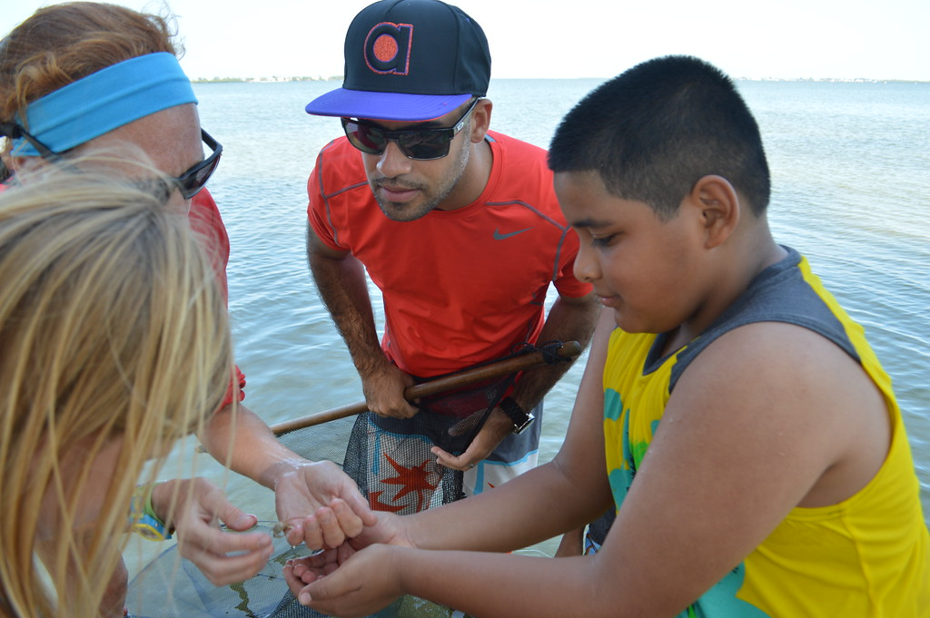 Funds raised at Octifest make it possible for students from schools like Manatee Elementary to attend Sanibel Sea School's programs.