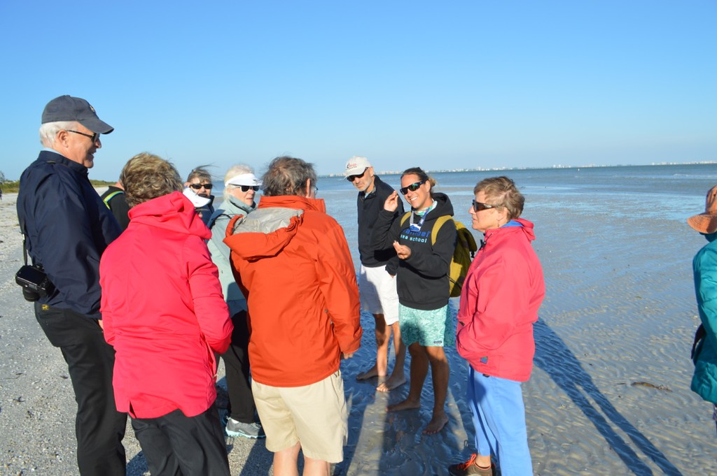 Sanibel Sea School offers a free guided beach walk for community members each month.