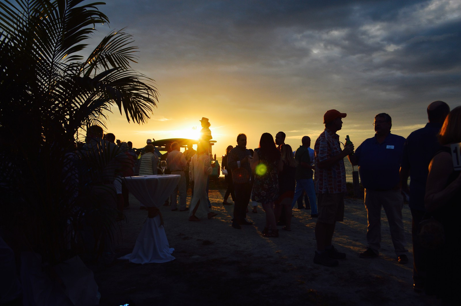 Guests at Octifest 2018 enjoyed sunset views.