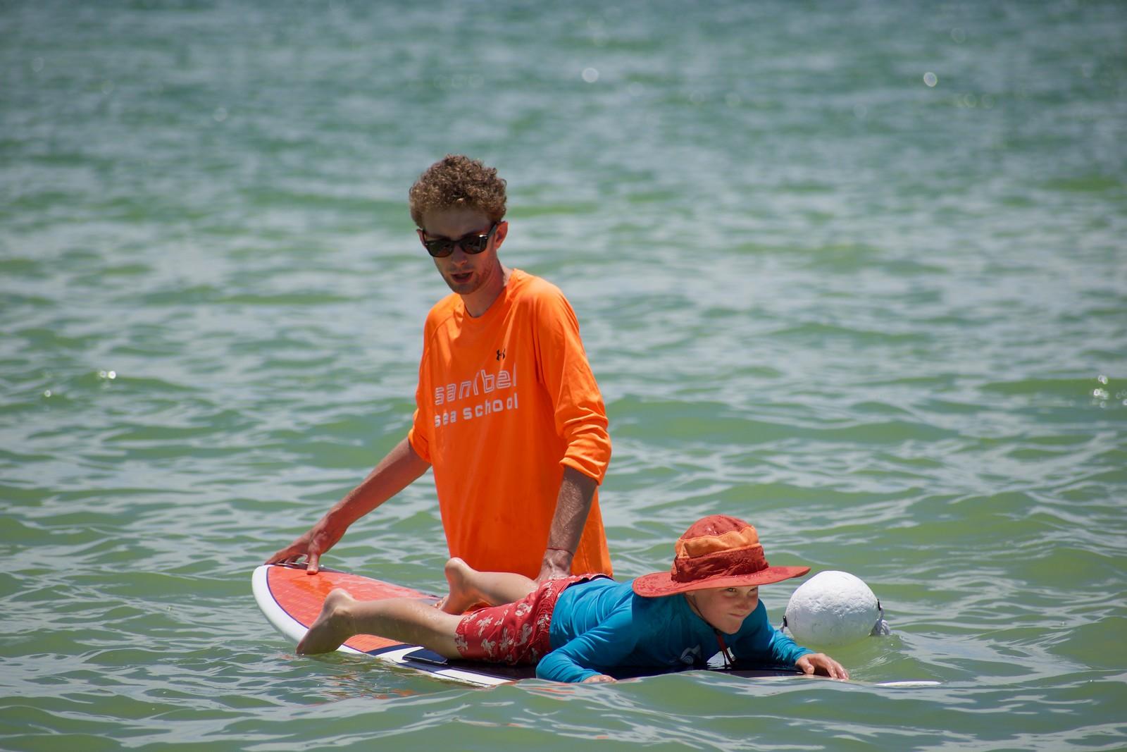 Sanibel Sea School will offer surfing lessons in September.