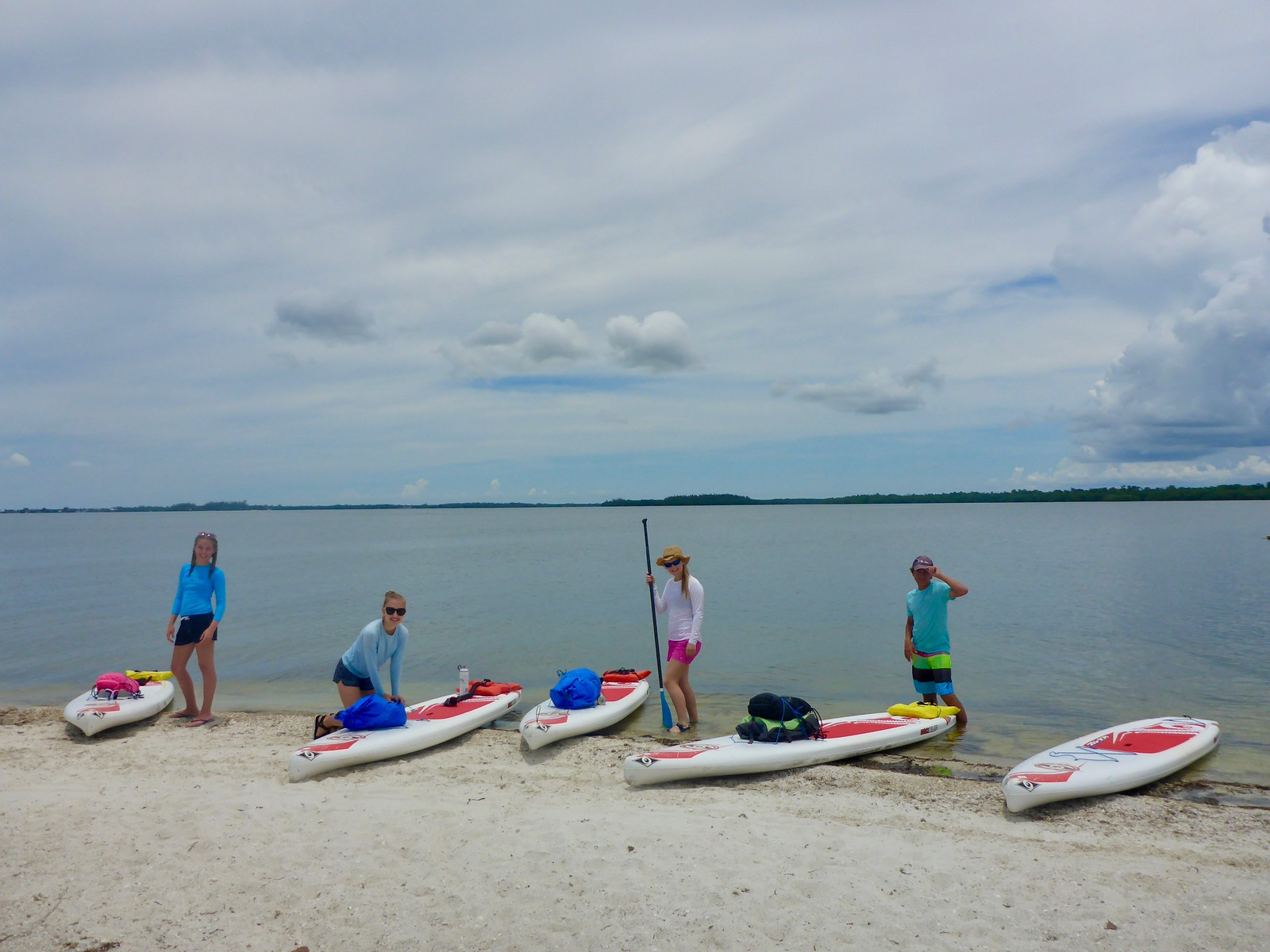 Teens can participate in a variety of paddling adventures at Sanibel Sea School this summer.