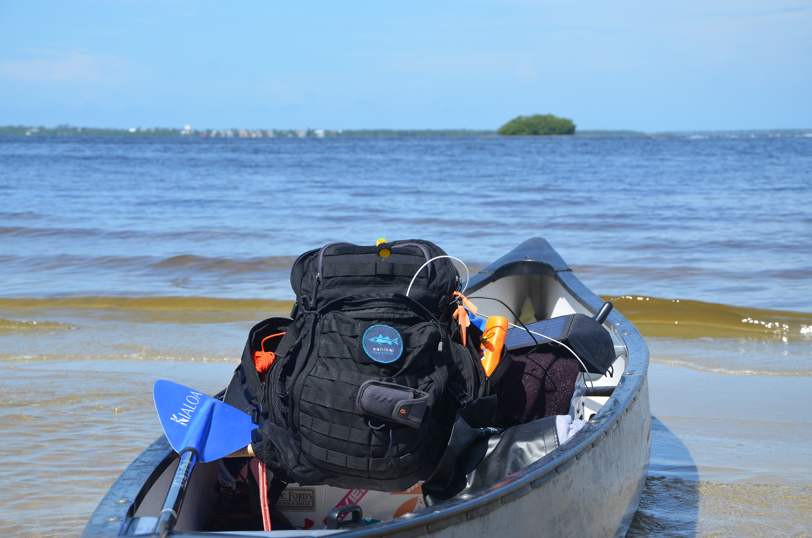 Campers will launch their boats from Pine Island and set out on an epic paddle to Cayo Costa State Park.