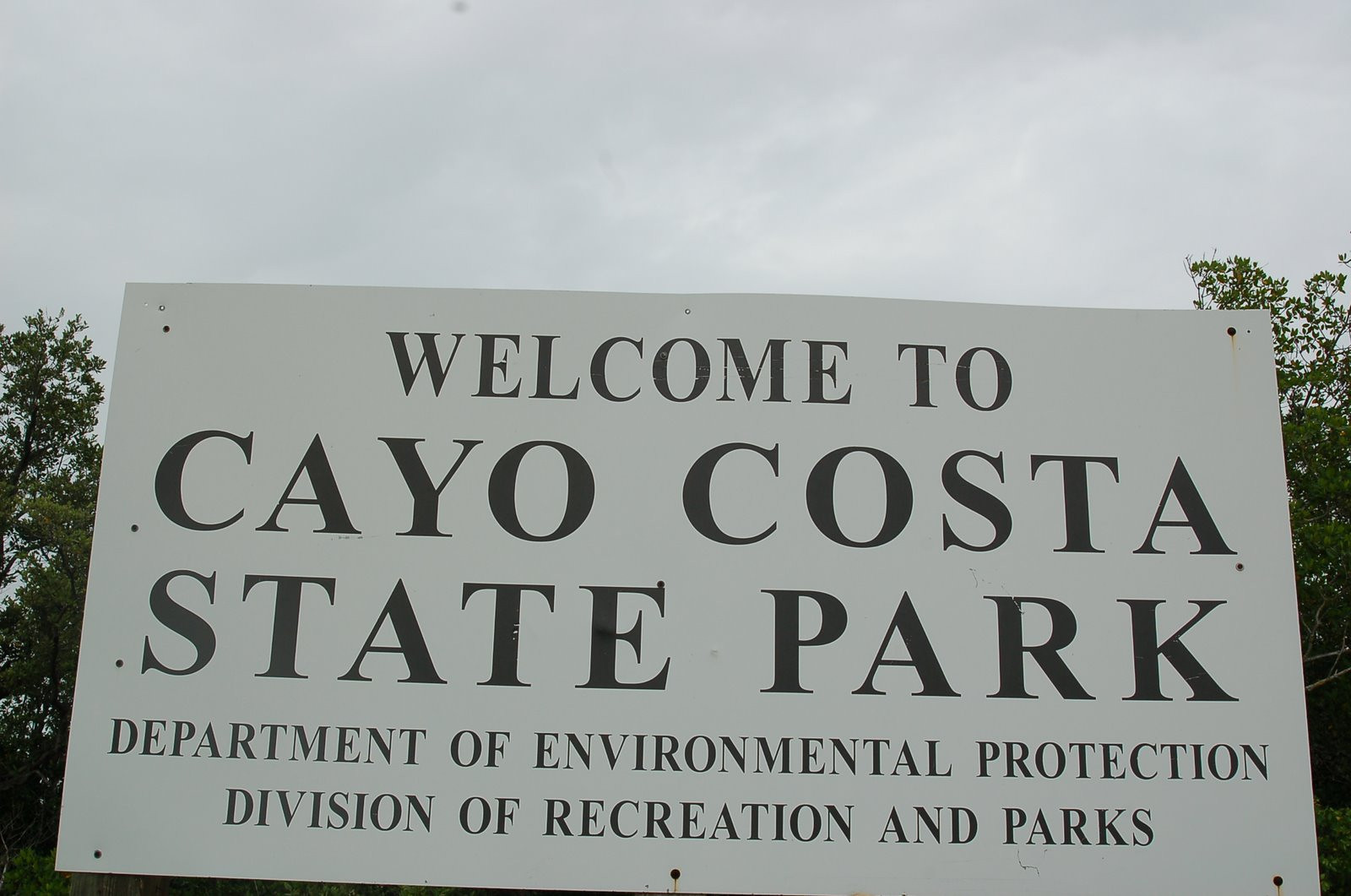 Cayo Costa State Park will be our home base for this adventure.