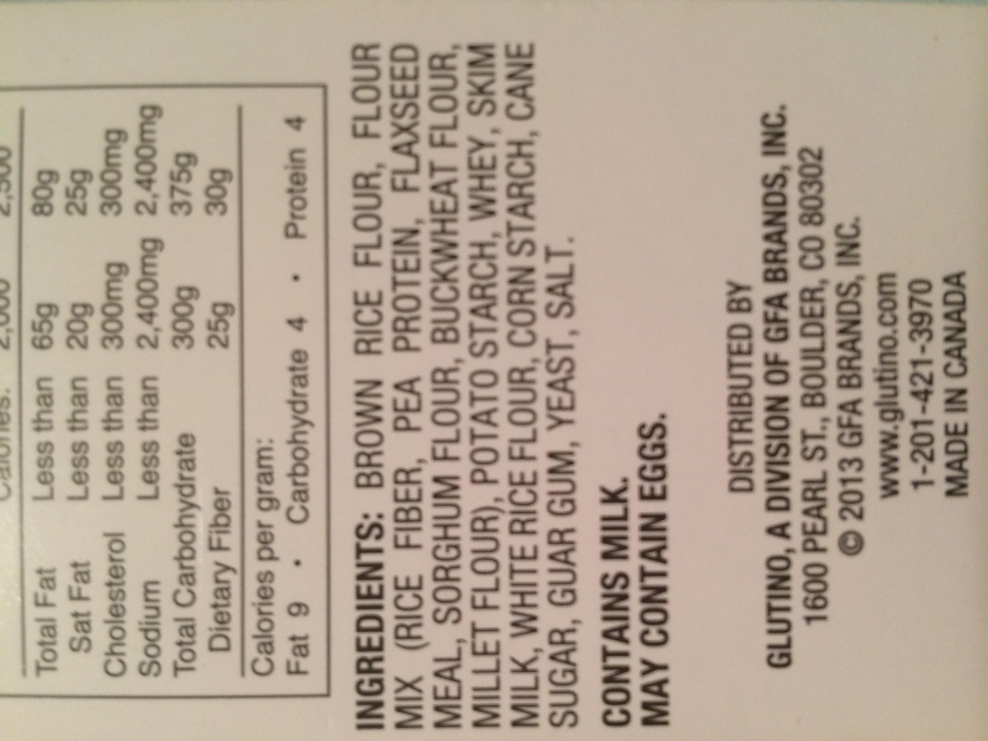Surprisingly buckwheat is gluten free!
