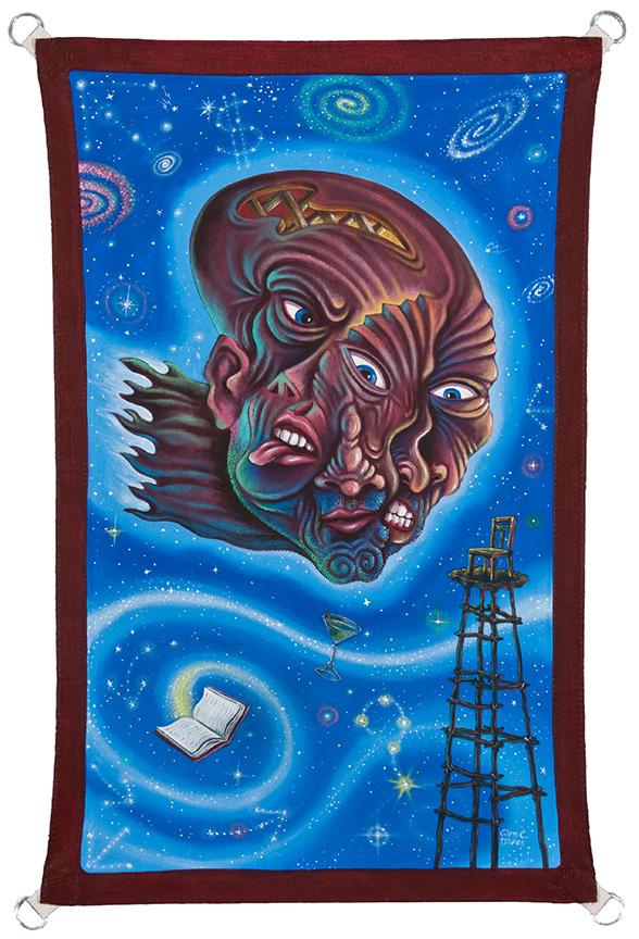 Vantage Point (Eye of the Beholder)  48x36, 2011