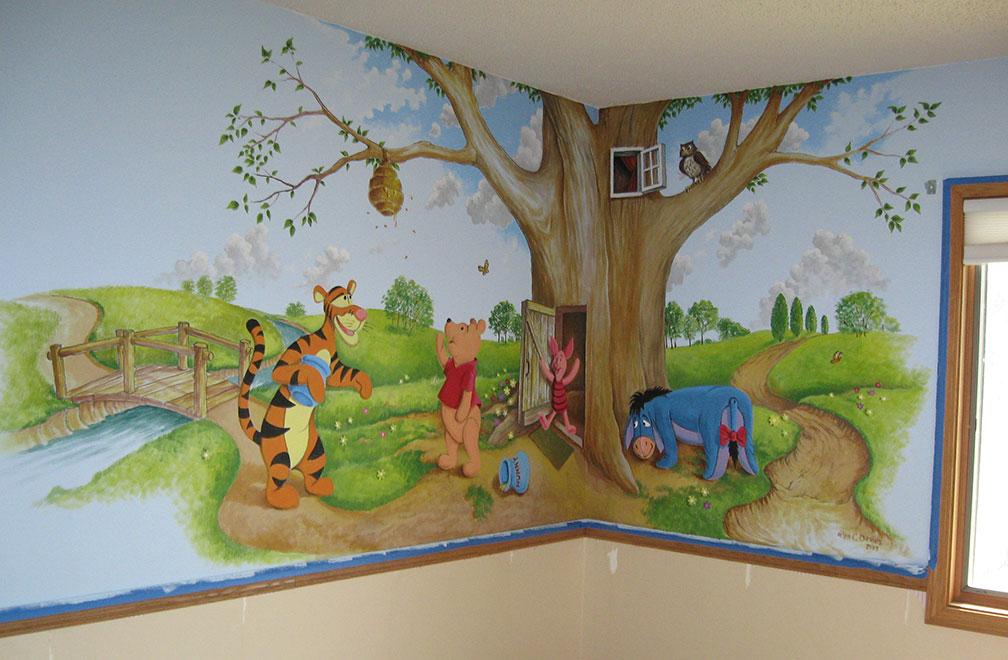 Baby's Bedroom Mural