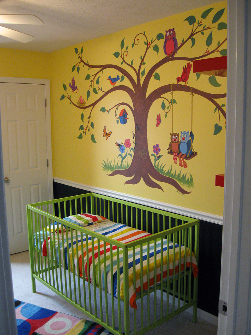 Baby's Room Mural