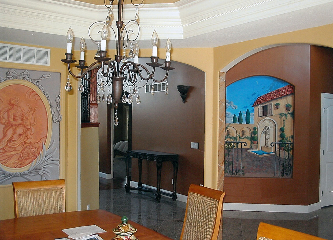 Dinning Room Murals
