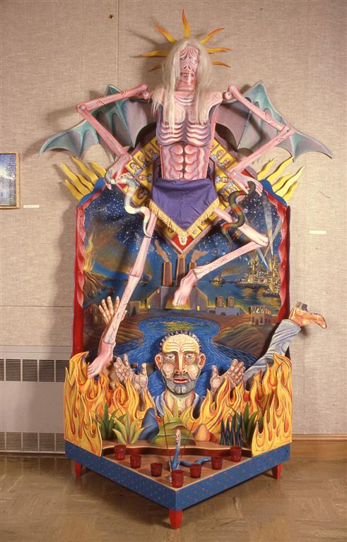 Shrine to the End of Time  1980, Mixed Media