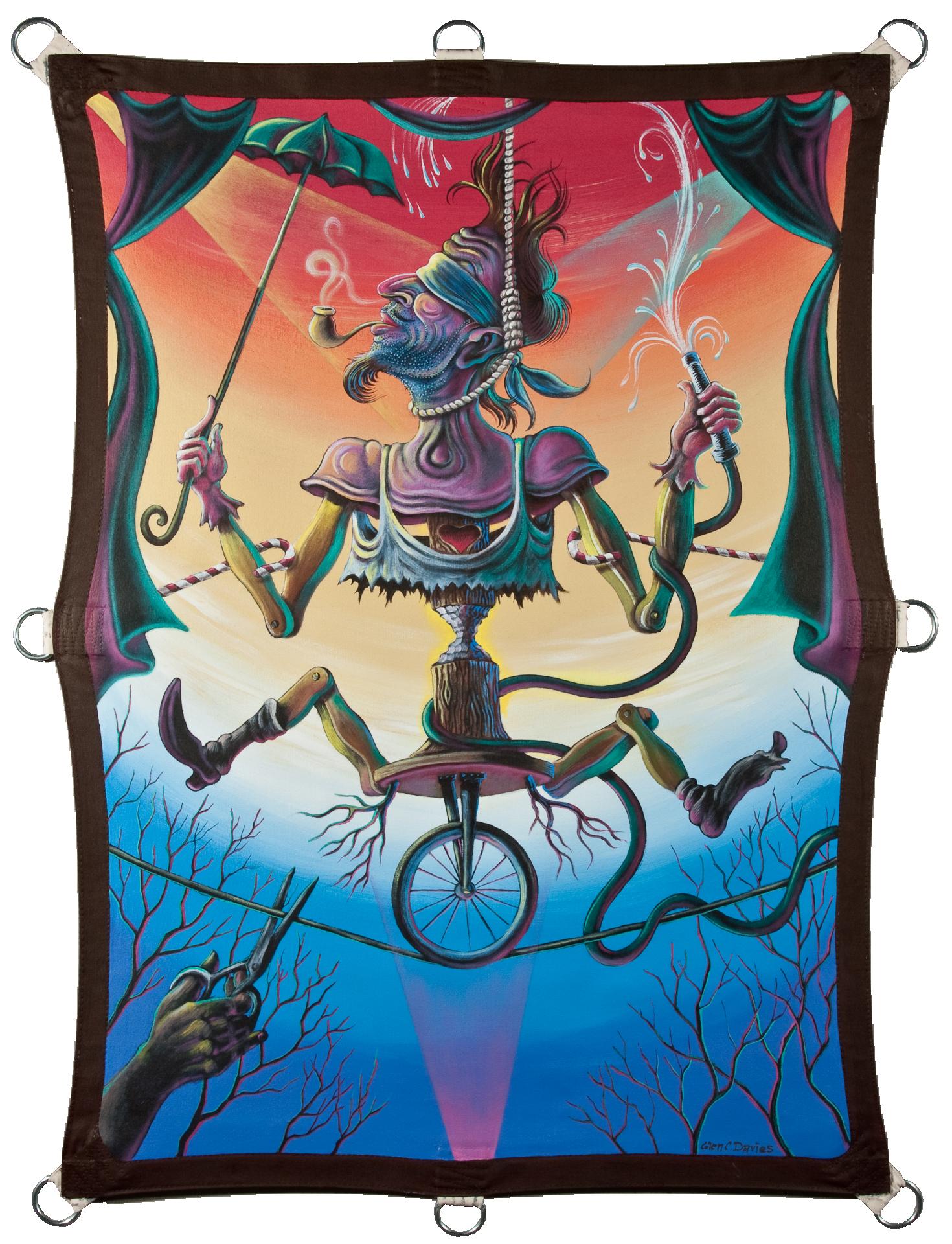 The Optimist , 2014, 48 X 36 Acrylic on Canvas