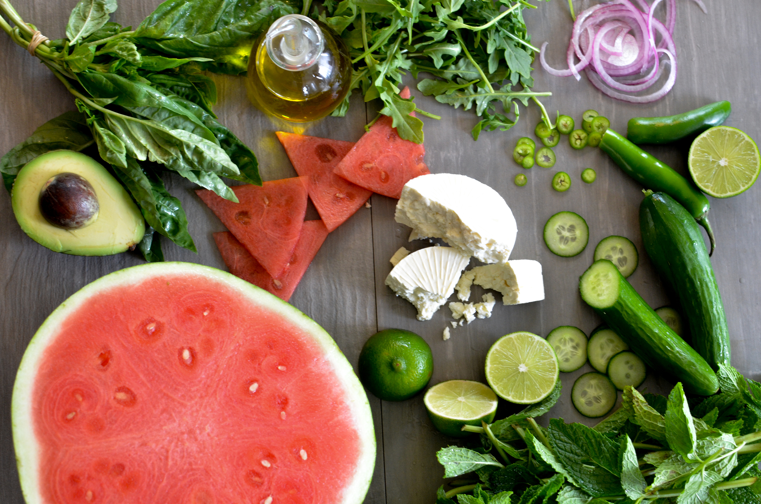 cc watermelon salad ingredients w oil avocado (1 of 1).jpg