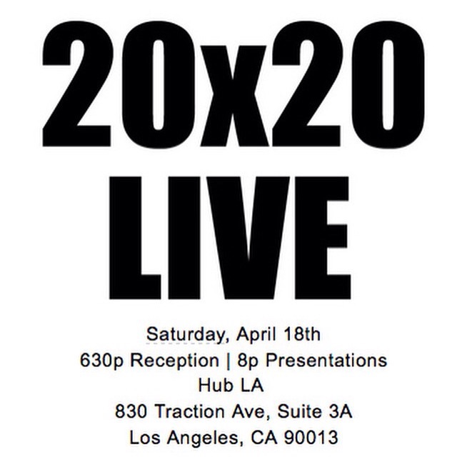 We are so thrilled to have been invited to present 20 photos at 20x20 Live on Saturday as part of MOPLA (A Month of Photography LA)! Angelenos, please come! It's a poetry slam of photography with LA's finest photographers, creative directors and photo editors and bound to make your eyeballs happy. Seating is limited so RSVP at Eventbrite and cheer us on or heckle us, we appreciate your presence either way. 💕  https://www.eventbrite.com/e/20x20-live-los-angeles-tickets-16362466578