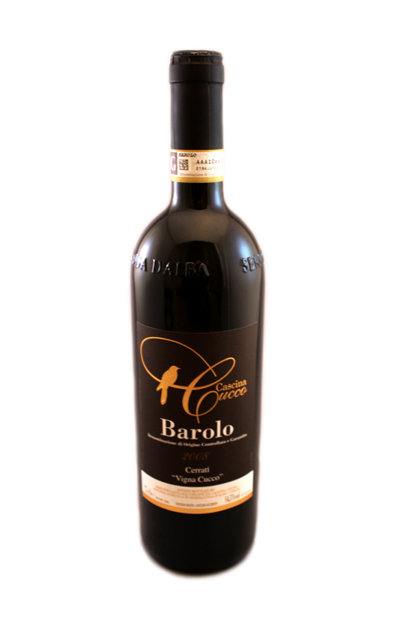"""BAROLO D.O.C.G. 2008 CERRATI """"VIGNA CUCCO""""   +more information"""