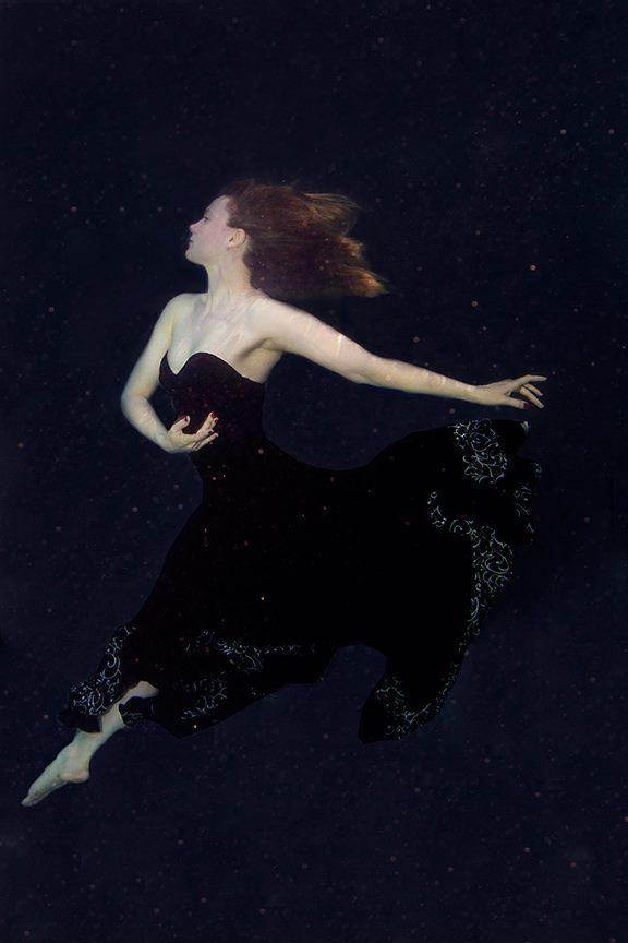 Flamenco Dancing underwater