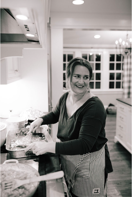 if I'm not writing, I'm probably cooking - Hey there! I'm Beth Brown Ables: a writer, a mother, a creative-type. My favorite thing is gathering people around a table and watching the magic that happens when good food fosters true connection. I write for several publications, I cook for retreats, I'm always putting off doing laundry. And the dishes. Welcome to my little (messy) corner of the world.