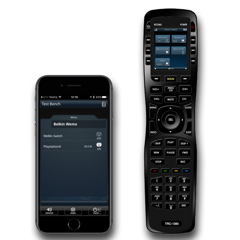 examples of our TWO way module user interfaces